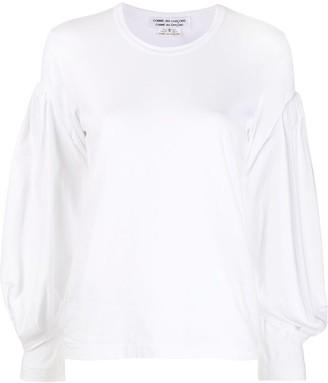 Comme des Garçons Comme des Garçons Puffed Sleeve Sweatshirt