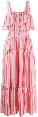 Three Graces striped maxi dress