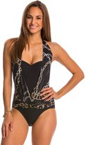Bleu Rod Beattie Linked In Halter One Piece Swimsuit 8116868