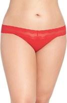 Natori Plus Size Women's 'Bliss Perfection' Thong