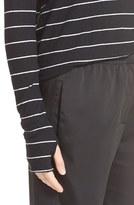 Enza Costa Stripe Cotton & Cashmere Tee