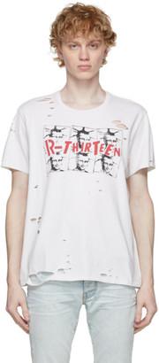 R 13 White Mona Lisa Boy T-Shirt