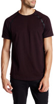 Kenneth Cole New York Short Sleeve Seam Seal Crewneck Shirt