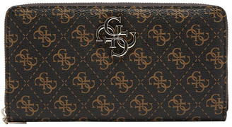 GUESS SG787963BRO Noelle Zip Around Wallet
