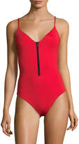 Onia Women's Arianna Solid One-Piece Swimsuit