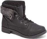 Black Cuff Fold-Down Boot