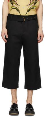 Davi Paris Black Sahara Trousers