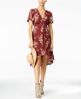 Astr Adeline Printed High-Low Dress
