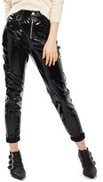 Topshop Women's Zip Vinyl Pants