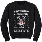 TeeStars - Bearry Christmas Childern's Ugly Xmas Sweater Cute Kids Sweatshirt