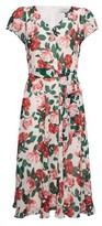 Dorothy Perkins Womens Billie & Blossom Blush Floral Print V