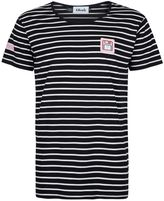 Topman OKUH Striped Short Sleeve Disk T-Shirt