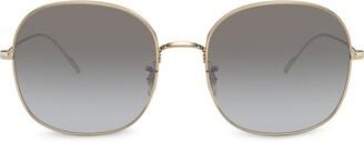 Oliver Peoples Oversized Frame Sunglasses