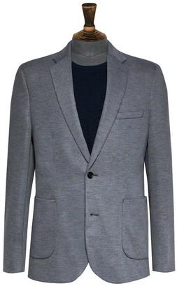 Burton Menswear London Pique Blazer - Grey