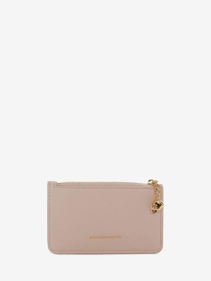 Alexander McQueen Zippered Card Holder