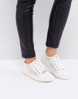 London Rebel Lace Trainer