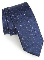 Lanvin Men's Dash Jacquard Silk Tie