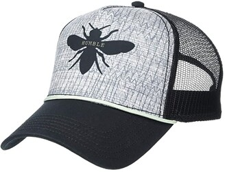 Prana Women's Journeyman Trucker (Black Bee) Baseball Caps