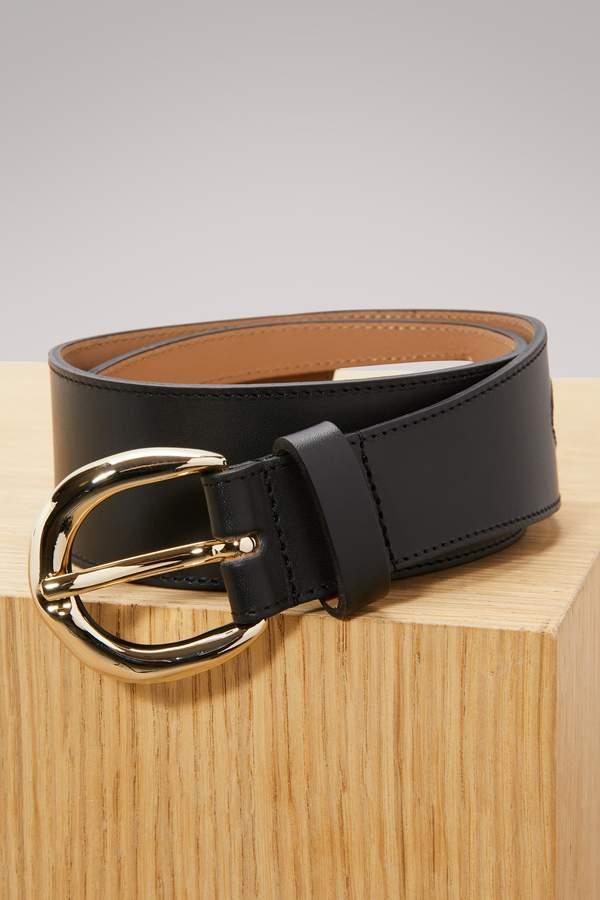 A.P.C. Leather Claudia belt
