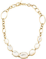 Faraone Mennella Diamond & Mother of Pearl Collar Necklace