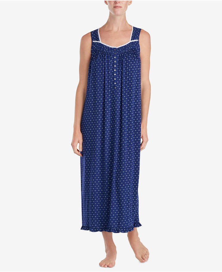 Eileen West Ballet Cluny-Lace Knit Nightgown