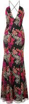 Jay Godfrey floral print gown - women - Silk/Nylon - 0