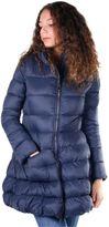 Invicta Woman Long Padded Jacket Blue