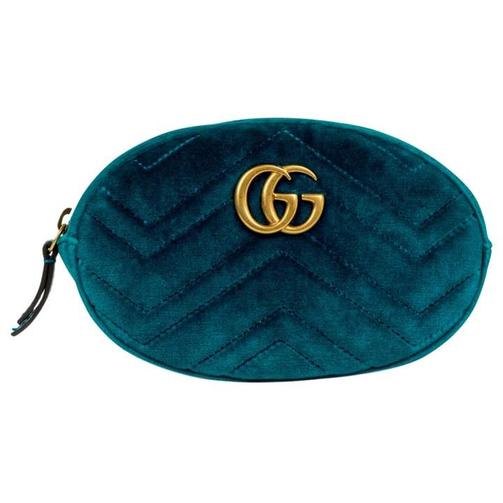 c4b5305b4cbc Gucci Velvet Belt Bag - ShopStyle
