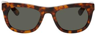 Han Kjobenhavn Tortoiseshell Cubicle Sunglasses