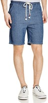 NATIVE YOUTH Ribbed Sweat Shorts