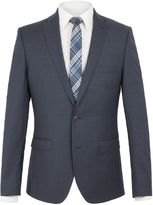 Ben Sherman Charcoal Contrast Gingham Jacket