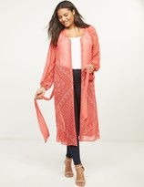 Lane Bryant Lightweight Maxi Overpiece