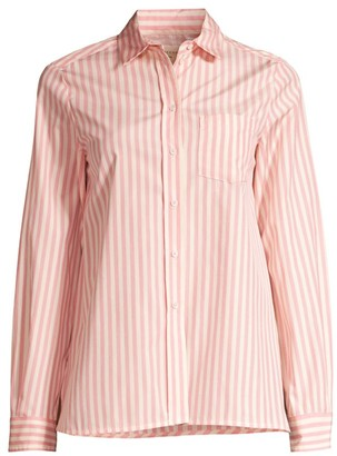 Max Mara Gong Striped Cotton Shirt