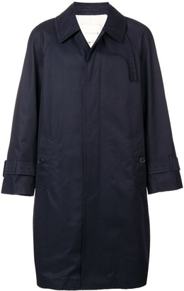 MACKINTOSH Cotton Oversized Fly-Fronted Trench Coat