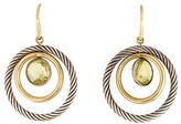 David Yurman Two-Tone Peridot Mobile Earrings