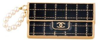 Chanel Faux Pearl Purse Pin