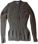 Prada Grey Cashmere Knitwear