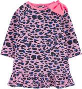 Billieblush Leopard dress with lurex