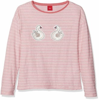 S'Oliver Girls' 53.809.31.8214 Longsleeve T - Shirt