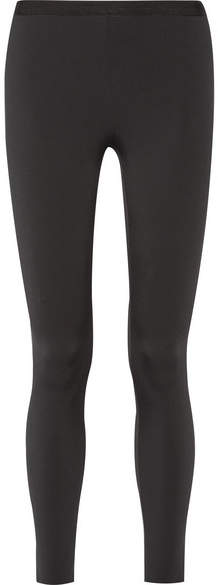 Helmut Lang Stretch-scuba Leggings - Black
