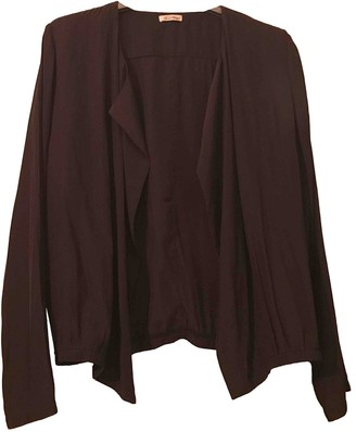 American Vintage Anthracite Silk Knitwear for Women