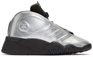 adidas by Alexander Wang Silver AW Futureshell Sneakers