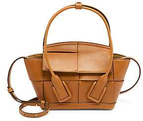 Bottega Veneta Women's Small Arco Leather Satchel