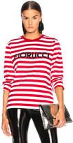 Fiorucci Stripe Classic Long Sleeve Tee