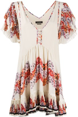 Isabel Marant Ruffled-Trim Dress