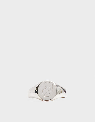 Wolf Circus Men's Femme Ring in Silver, Size 11