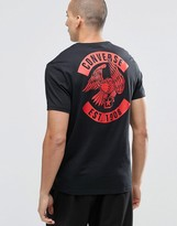 Converse Eagle T-shirt In Black 10001323-a01