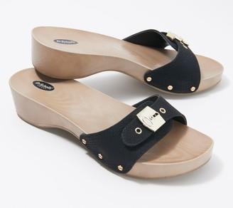 Dr. Scholl's Adjustable Slide Buckle Sandals - Classic
