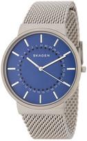 Skagen Men's Ancher Mesh Bracelet Watch