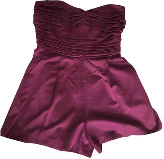 Topshop Tophop Purple Jumpsuit for Women